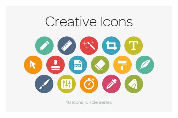 Circle Icons Creative