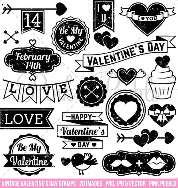 Vintage Valentine S Day Stamps