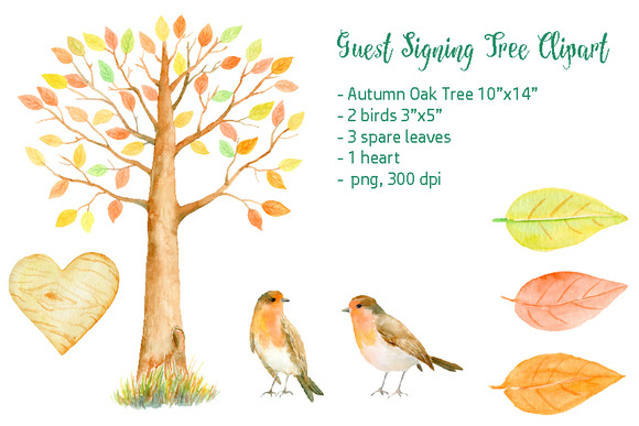 Autumn Guest Signing Tree