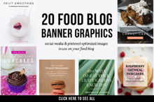 20 Food Blog Banner Graphics