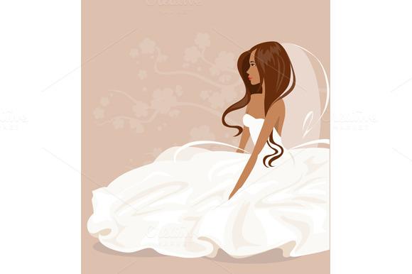 Collection Brides Vector