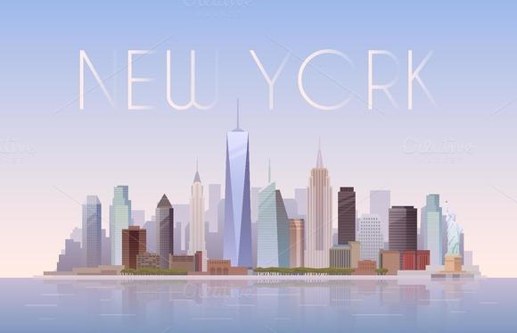 New York. Vector Illustration. - Illustrations