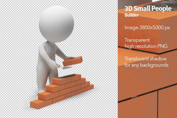 3D Small People Builder