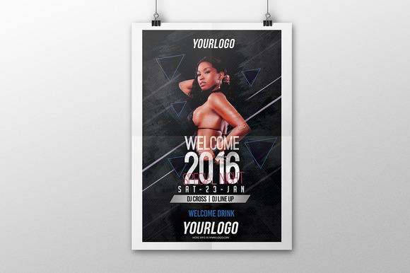 Welcom 2016 Flyer PSD