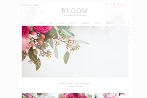 Bloom // An Ecommerce Genesis Theme