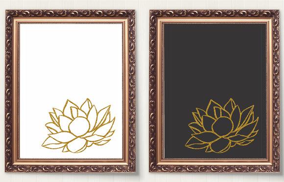 LOTUS FLOWER ART