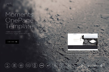 Moments - One Page Template