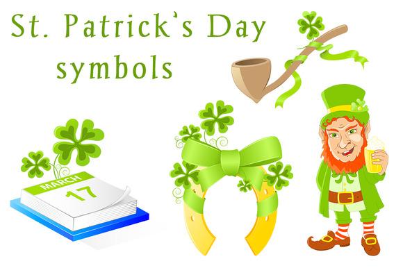 St. Patrick's Day symbols - Illustrations