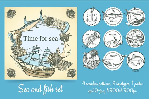 Sketch Sea Set