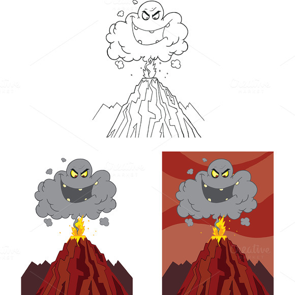 Erupting Volcano Collection