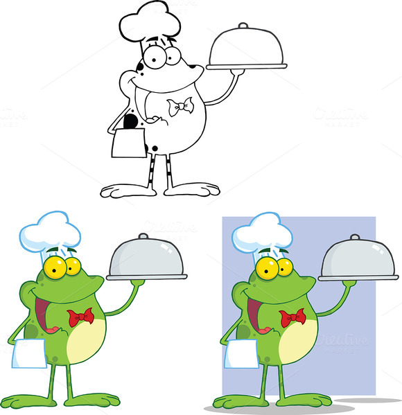 Chef Frog Collection