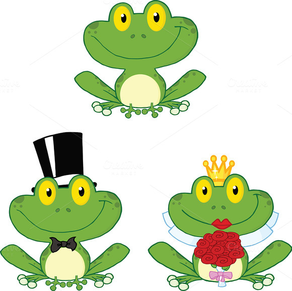 Happy Small Frogs Collection