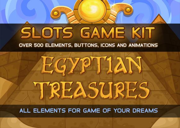 Egyptian Treasures Slots Game