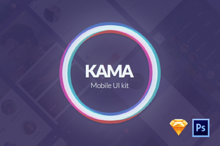 Kama - Mobile UI Kit