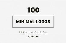 100 Minimal Logos - Premium Kit