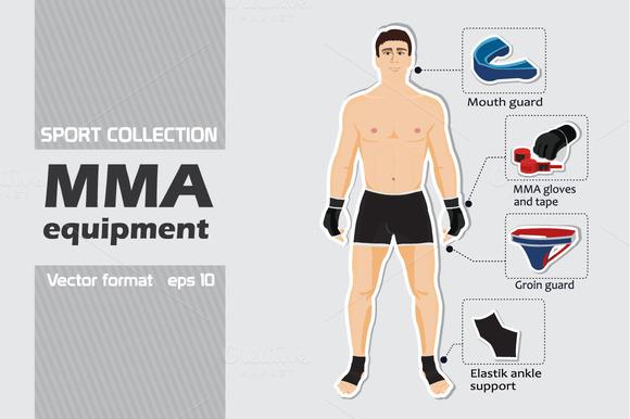 Set Of MMA Equipment