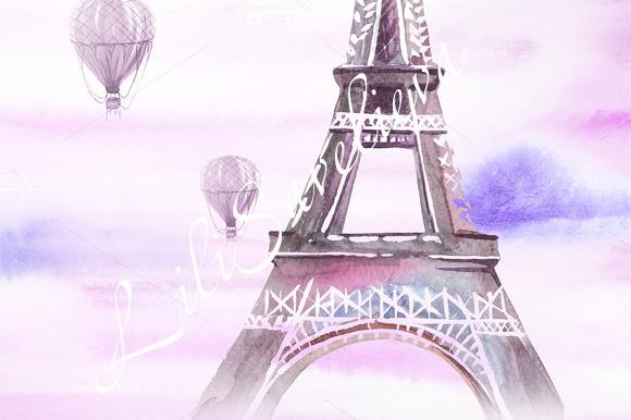Gambar Animasi Kartun Menara Eiffel Maydesk com