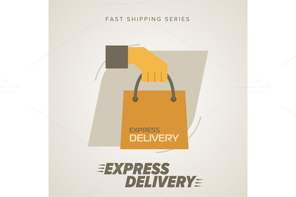 Express Delivery Symbols