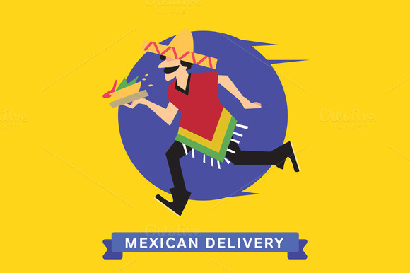 Delivery Service Of Mexican Food