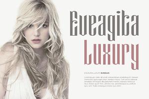 Eveagita Luxury - 4 Fonts