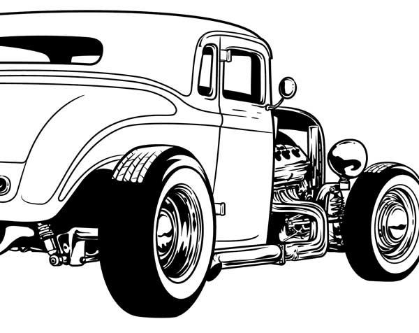 316 Vectors HOT RODS ~ Illustrations on Creative Market