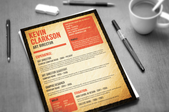 most wanted resume resume templates on creative market