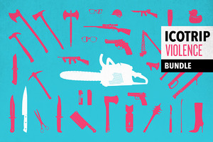 ICOTRIP - violence icon bundle