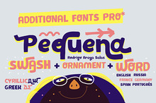 Pequena Family, Additional fonts