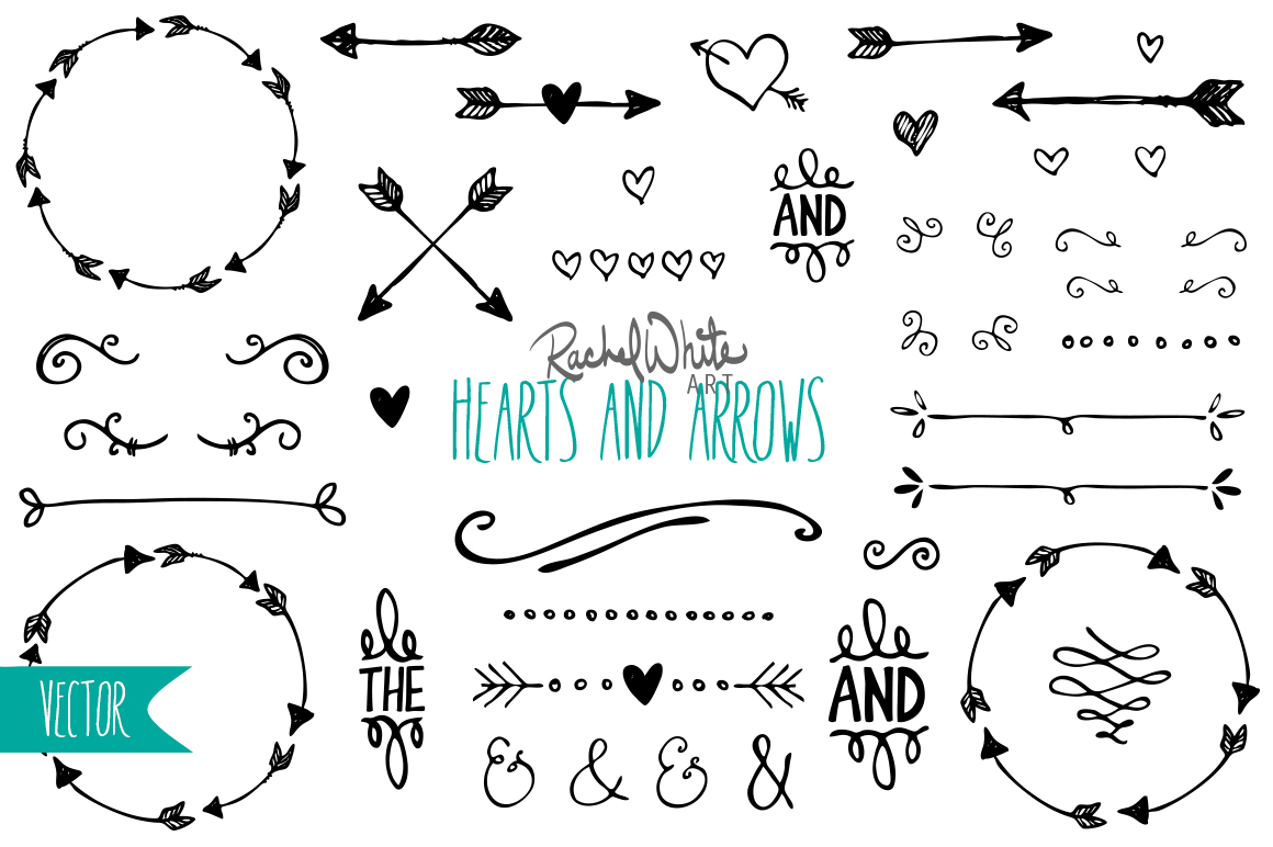 Hearts Amp Arrows Vector Amp Png Illustrations On Creative
