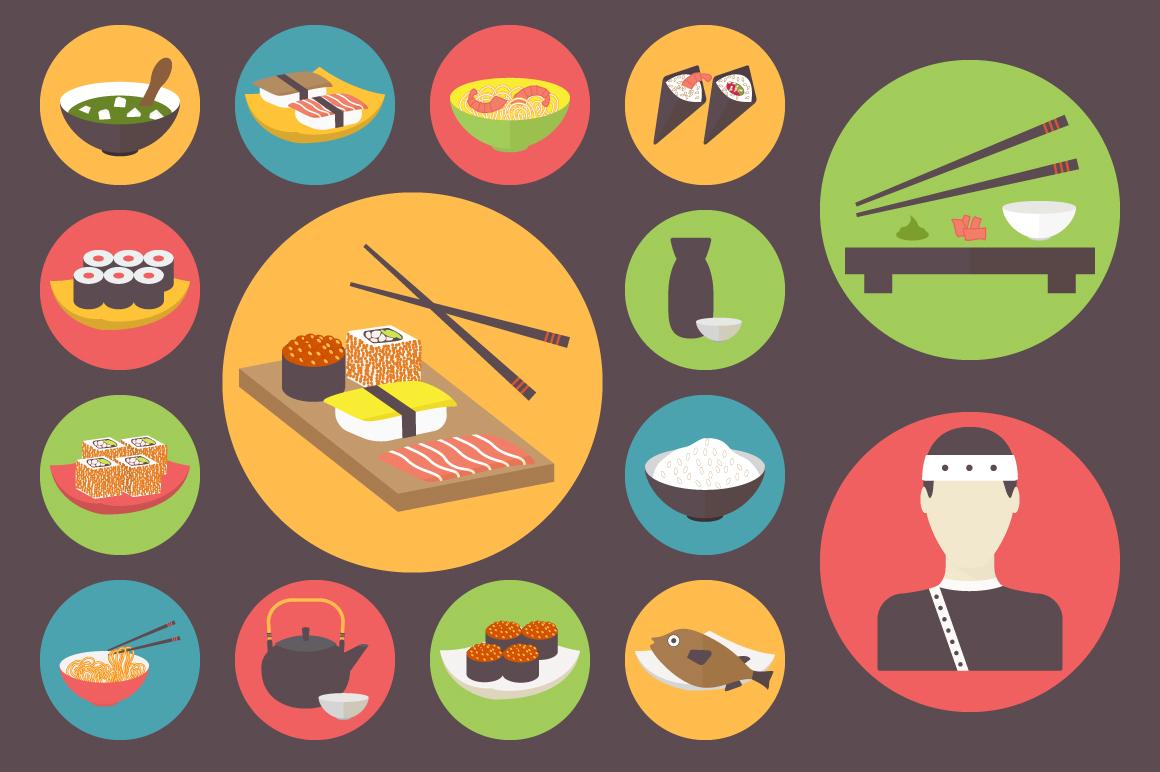 1 Sushi Set Black Noshadow Preview O Jpg 1398244726