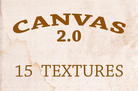 Canvas 2.0 - 15 Textures - Textures