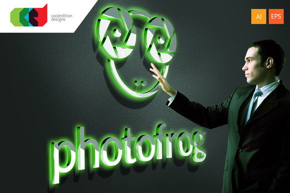 Photo Frog Logo Template Free BC