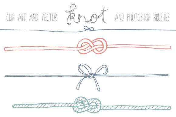 Handdrawn Knot Clip Art ~ Illustrations on Creative Market