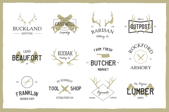 Expedition Vintage Logo Bundle - Logos - 1