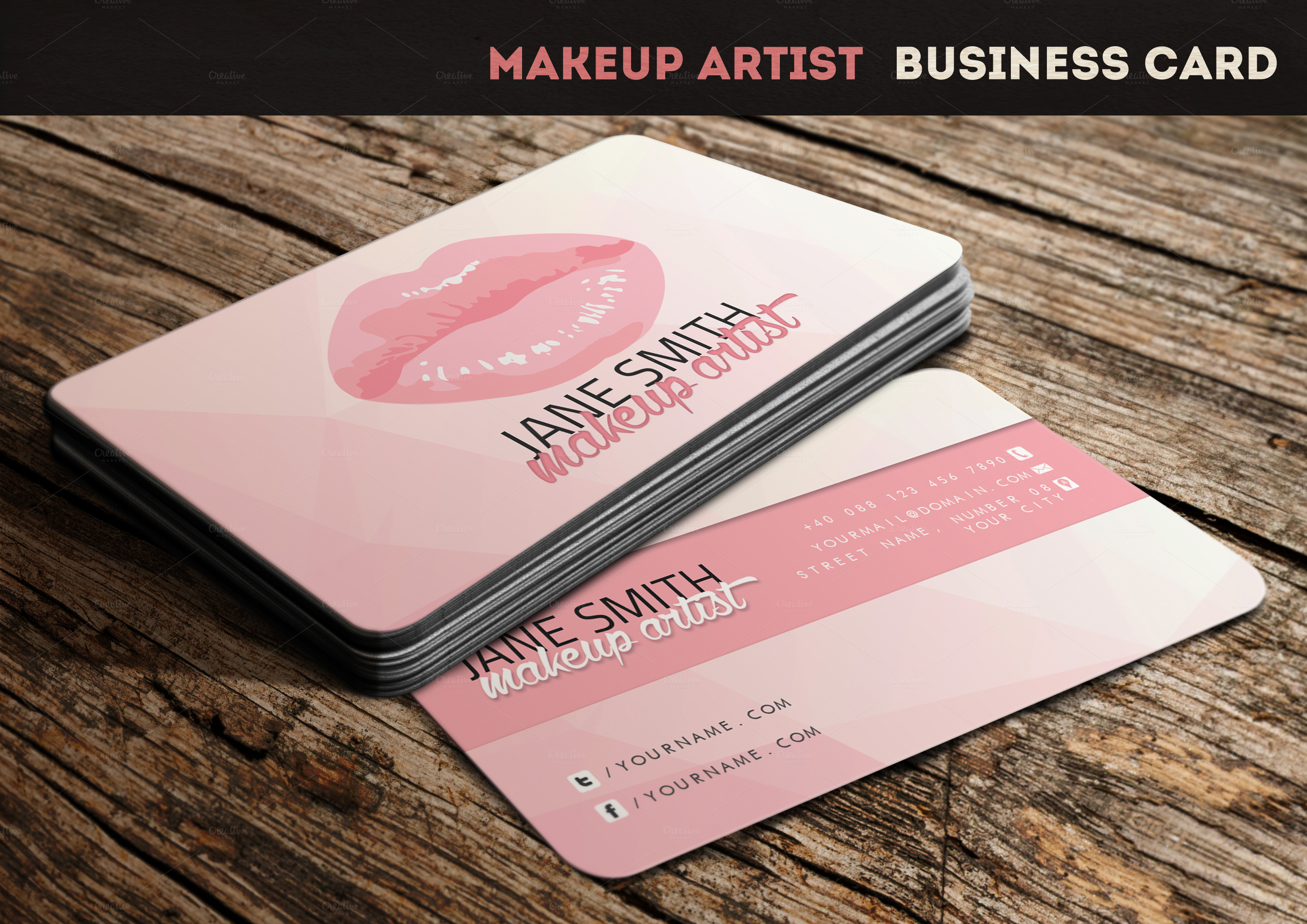makeup artist business cards - photo #13