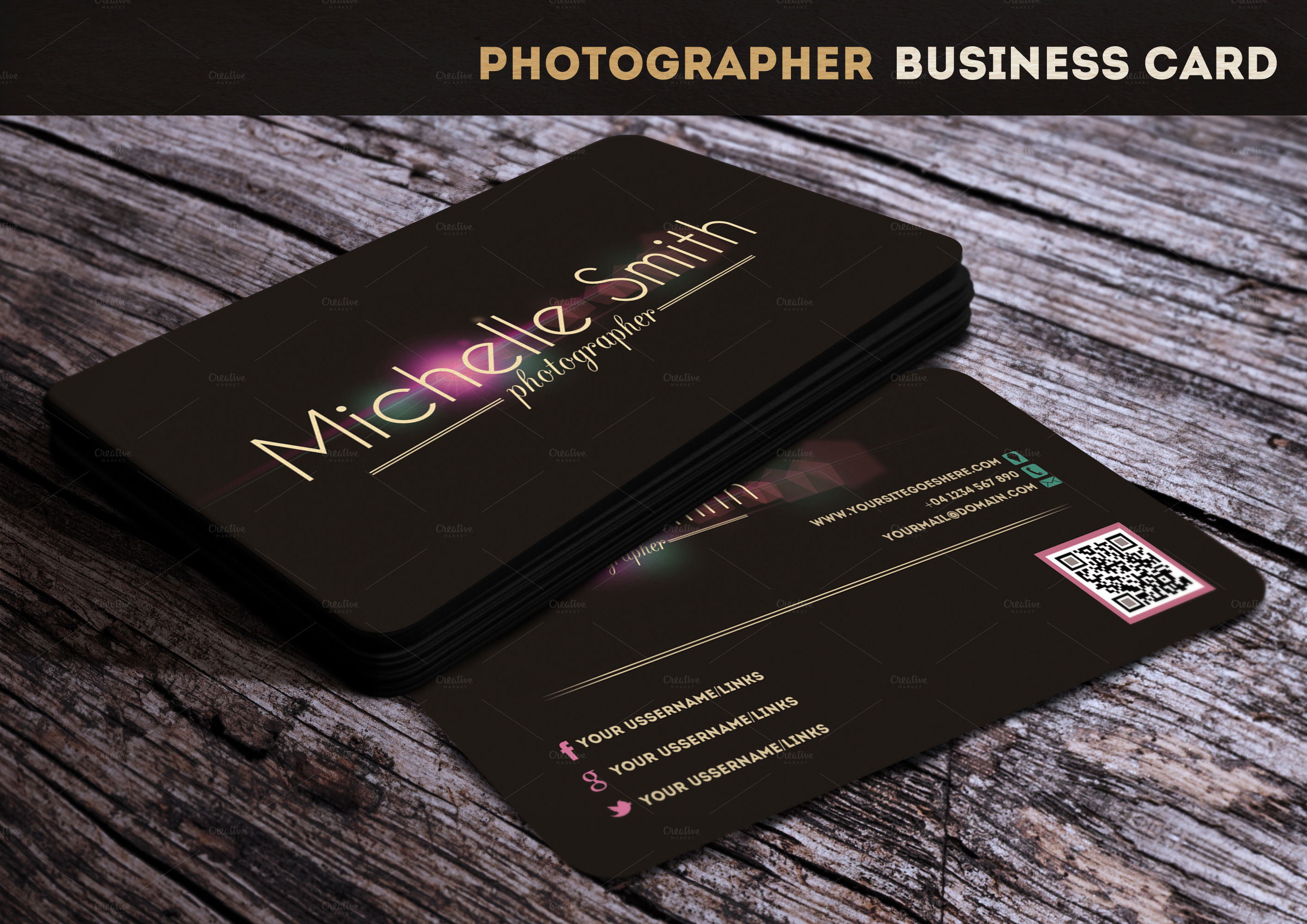 Visiting card template shefftunes visiting card template wajeb Gallery