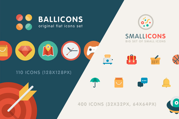 Back Icon Flat Flat Icons Bundle 510