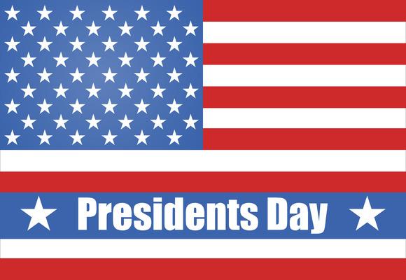 Flag Of America President's Day