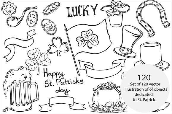 St. Patrick's Day, vector - Illustrations