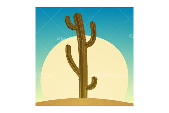 Cartoon Cactus
