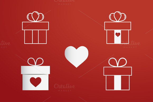 Vector Happy Valentine Day Design