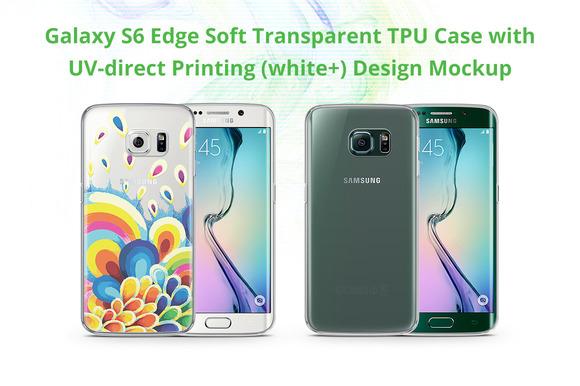 Galaxy S6 Edge TPU Case UV Print Moc