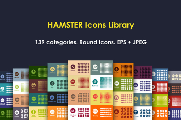 HAMSTER Round Icons Library