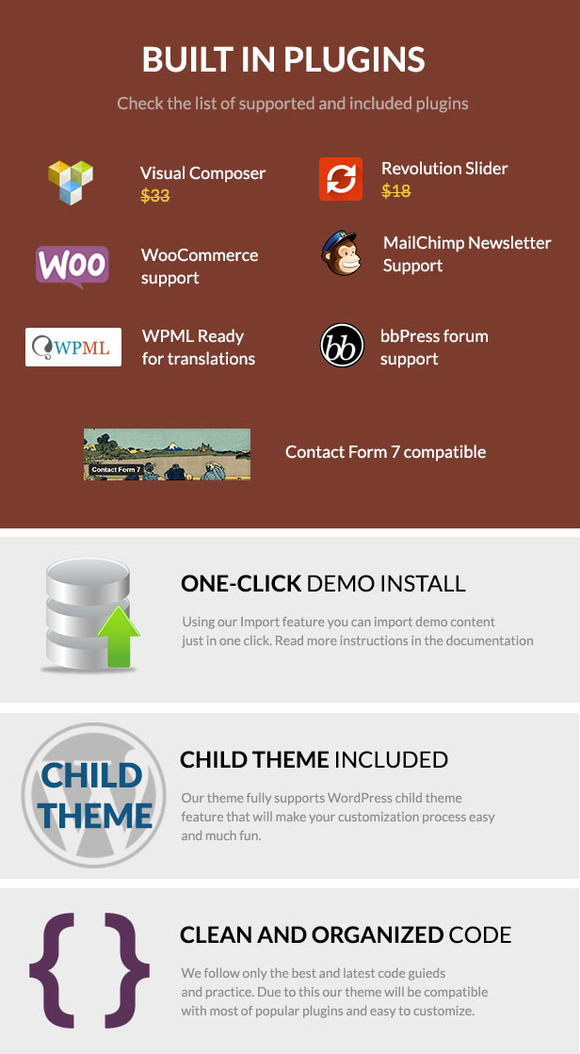 Notredam - Premium WordPress Theme