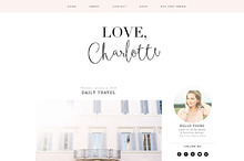 Love Charlotte Blogger Template