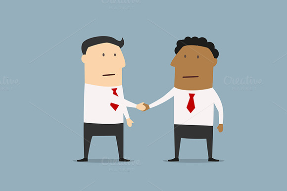 Businessmen Of Different Ethnicities