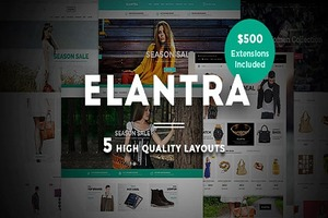 Elantra-Advanced Responsive Magento