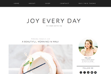 Joy Every Day Blogger Template