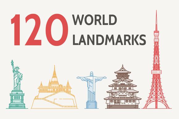 World S Famous Landmarks