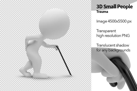 3D Small People Trauma